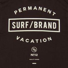 """画像4: """"VACAY""""半袖Tシャツ / SURF/BRAND Design Kaos, Surf Brands, Print Design, Graphic Design, Surfing, Logos, Prints, T Shirt, France"""