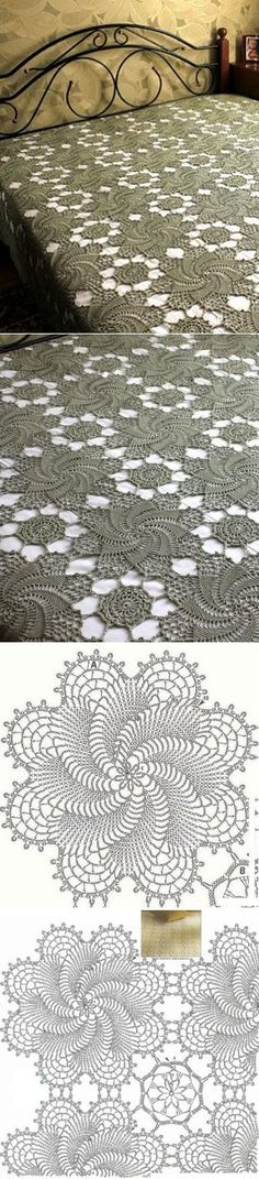 Discover thousands of images about Crochet Crochet Art, Crochet Home, Thread Crochet, Crochet Motif, Vintage Crochet, Crochet Designs, Crochet Doilies, Crochet Stitches, Flower Crochet