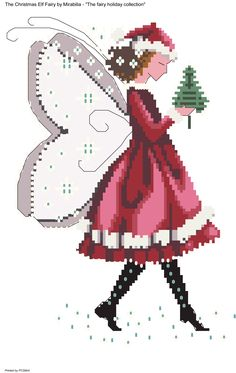 The Christmas Elf Fairy