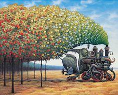 Resultados de la Búsqueda de imágenes de Google de http://www.artespain.com/wp-content/uploads/ilustraciones-pinturas-surrealistas-surrealismo-dise%25C3%25B1o-Jacek-Yerka.jpg