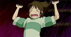 Spirited Away-- Well this just about sums up life.