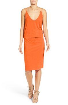 Pam & Gela Drop Waist Knit Blouson Dress
