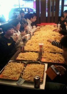 McDonald's In Japan French Fry Deal Causing Potato Parties