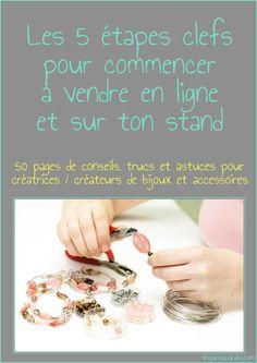 guide pour vendre en ligne - création bijoux