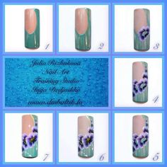 Nails First, One Stroke Painting, Nail Tutorials, Nail Art, Tutorial Nails, Beauty, Nail Arts, Nail Art Tutorials, Beauty Illustration