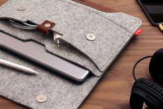 iPad Pro 9.7 pulgadas funda manga 100% fieltro de por packandsmooch
