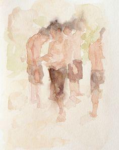 Anne Petty, Watercolor