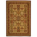 Lyndhurst Multi/Red 5 ft. 3 in. x 7 ft. 6 in. Area Rug