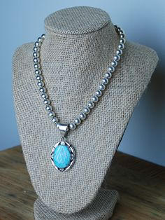 A Class of Turquoise Necklace - Simply M