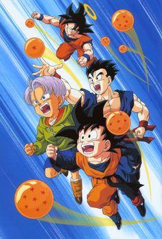 Dragon Ball Z Dragon Ball anime Akira Toriyama Son Goten Son Gohan Trunks Son Goku Saiya-jin Saiyan