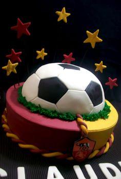 AS Roma Cake