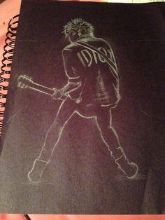Late night drawings of 5sos Awesome job / credit to @liviaa74