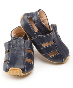 Perfect little summer shoe for baby boy. $22.99 on #zulily