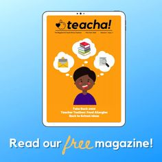 Free Resources for Teachers and Parents - Teacha! Free Magazines, Teaching Materials, Teacher Resources, Lesson Plans, Curriculum, Back To School, Parents, Classroom, How To Plan
