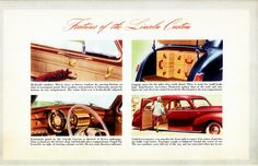 1941 Lincoln Custom Features | Flickr - Photo Sharing!