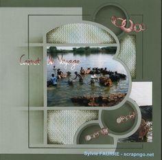 Eole page découpées 1 Unique Photo, Scrapbook Pages, Scrapbooking Ideas, Decoration, Mosaic, 1, Concept, Shapes, Mirror