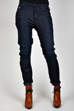 New G-Star Raw collection - Zie hier de Arc Chrome 3D Tapered Low Crotch jeans.