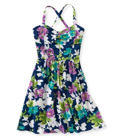 Floral Bustier Dress from Aeropostale