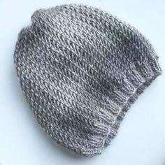 Tuto cap point of net. - The factory of Mila - vest Newborn Crochet Patterns, Knitting Patterns Free, Free Knitting, Baby Knitting, Crochet Baby, Knit Crochet, French Hat, Owl Hat, Beanie