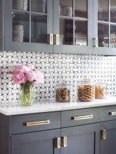 Best rustic farmhouse gray kitchen cabinets ideas (22)