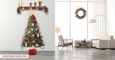 Christmas Countdown, Christmas Tree, Balsam Hill, Holiday Movie, Hallmark Channel, Deck The Halls, Merry, Joy, Holiday Decor