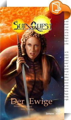 SunQuest - Dies Cygni 2: Der Ewige    ::  Auf der Suche nach der legendären Urmutter geraten Shanija Ran und ihre Gefährtinnen ins Verkehrte Land, das von einem schrecklichen Fluch beherrscht wird, und entdecken einen Versammlungsplatz der Wahrheitssuchenden, wo es angeblich auf jede Frage eine Antwort gibt. Dabei begegnen sie einem Adepten der geheimnisvollen Gilde der Wissensträger, und einem Abenteurer, der mehr ist, als er vorgibt zu sein. Der zweite Band des sechsbändigen Zyklus u...