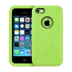 Funda iPhone 5c Verde - NewerTech NuGuard KX