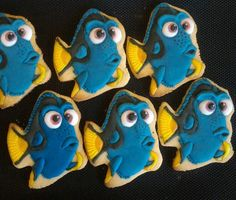 Dory Cookies #findingdory