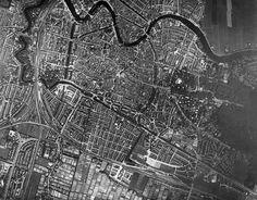 Luchtfoto van Haarlem
