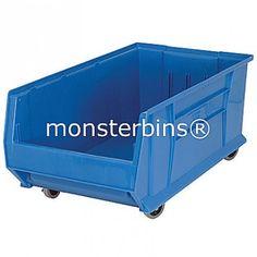Bins with Wheels!  #mobile #storage #bins #binswithwheels #storagebinswithwheels