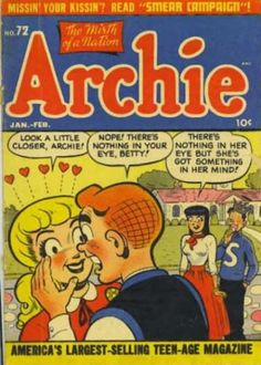 A cover gallery for the comic book Archie Archie Comics Characters, Archie Comic Books, Old Comic Books, Vintage Comic Books, Comic Book Artists, Comic Book Covers, Vintage Comics, Verona, Archie Betty And Veronica