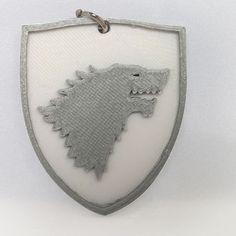 3D Stark Keychain. | #3Dprinting #3DPrinted #Customized