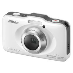 Nikon COOLPIX S31 10.1MP Waterproof Digital Camera with 3x Optical Zoom