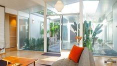 Eichler Atriums | Atrium Photo Gallery for Mid-Century Modern Eichler Homes - Atrium 3 view A