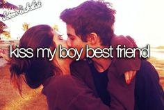 kiss my boy best friend