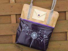 """Tasche """"Lucy"""" genäht von Schneppis Hobby und Ideen Eck Design, Cool Bag, Bags Sewing, Sewing Patterns Bags, Ideas"""