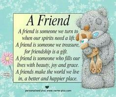 ♡☆ A FRIEND ☆♡