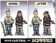 Gun control for dummies