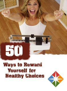 Do you have a reward system in place for losing weight, making healthy food choices, or doing exercise? If not, you may want to consider some of these non-food rewards that you can put in place when you reach certain goals to help keep you motivated!