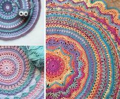 21 Best Mandala Rug Images In 2019 Crochet Carpet Crochet Doilies