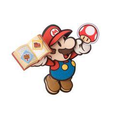 Paper Mario Sticker Star - Mario Super Mario Nintendo, Super Mario Art, Nintendo Sega, Super Mario World, Mario And Luigi, Mario Kart, Mario Bros, Paper Mario Color Splash, Paper Mario Sticker Star