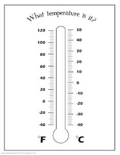 Temperature Worksheets For 2nd Grade #1 | HomeSchool - 1st ...