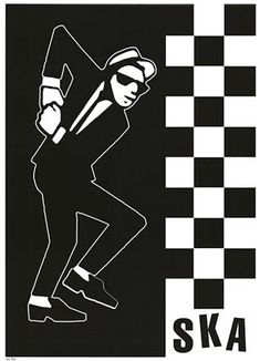 The Specials – Many believe Madness stole the idea of having a man in a suit as a logo from the Specials. The gentleman in question, dubbed Walt Jabsco, can be seen in various positions, strutting various dance moves. Designed by Jerry Dammers and Horace Panter, its a glorious illustration that sums up the ska genre perfectly.
