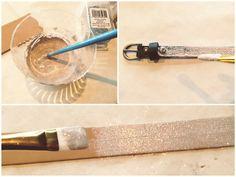 MOM MONDAYS: D.I.Y Glitter Bow Belt