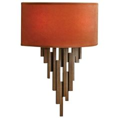 Hubbardton Forge Echelon Sconce Bronze By (€565) ❤ liked on Polyvore featuring home, lighting, wall lights, wall sconce, incandescent lamp, bronze lighting, bronze sconces, incandescent lights and hubbardton forge