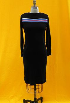 Vintage black sweater dress $20.00