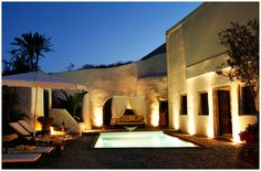 The famous Mansion Sophia, a private villa in Santorini..