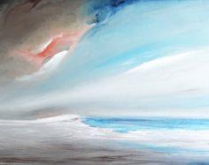 Pintura de paisaje de mar de pintura de por italianmarinepainter