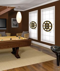 Boston Bruins Room Workshop Projects Hockey Room