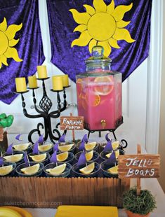 The Kitchen McCabe: Tangled/Rapunzel Birthday Party